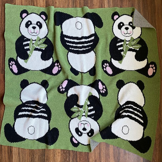 panda-baby-eco throw