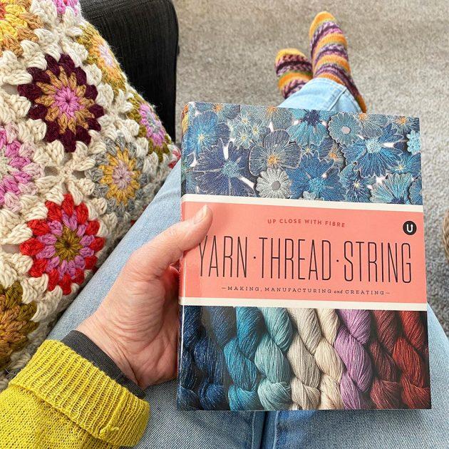 uppercase-yarn thread string book