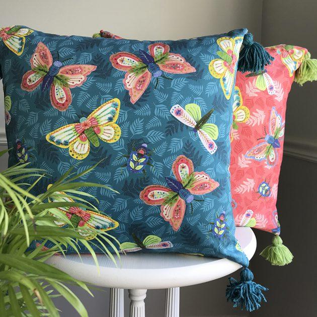 Entomologie print pillows