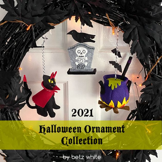 2021-halloween-ornament collection