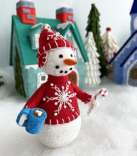 snowman in winterville