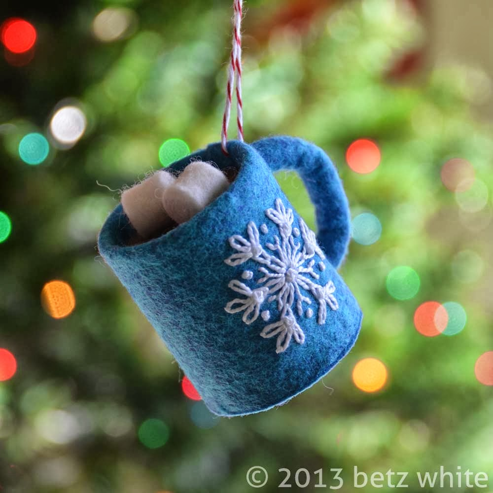 stitch along ornament 2 hot chocolate betz white