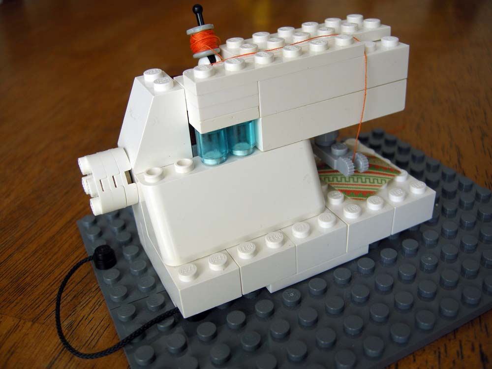 how to make a sewing machine