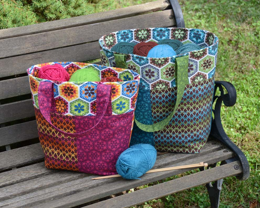 Stitch-along Tote Pattern - Betz White