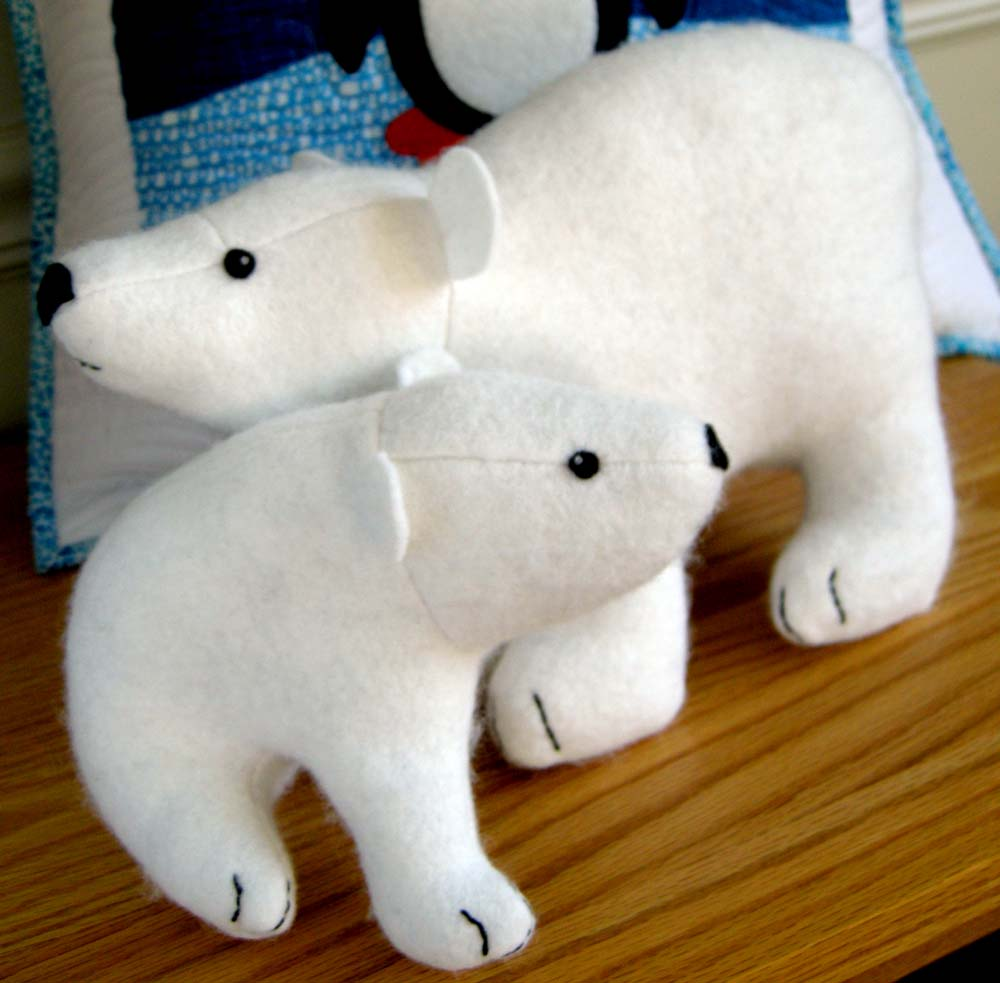Wildlife with love flurry and fluff polar bears betz white