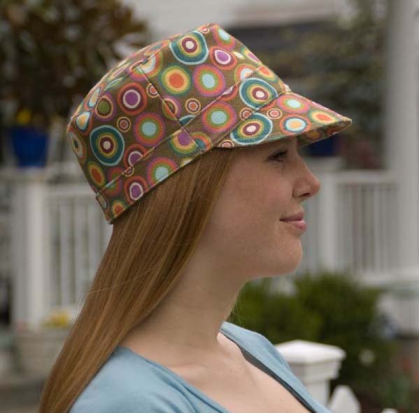 Pattern On How Tomake Old Men Fabric Cap Hat 73