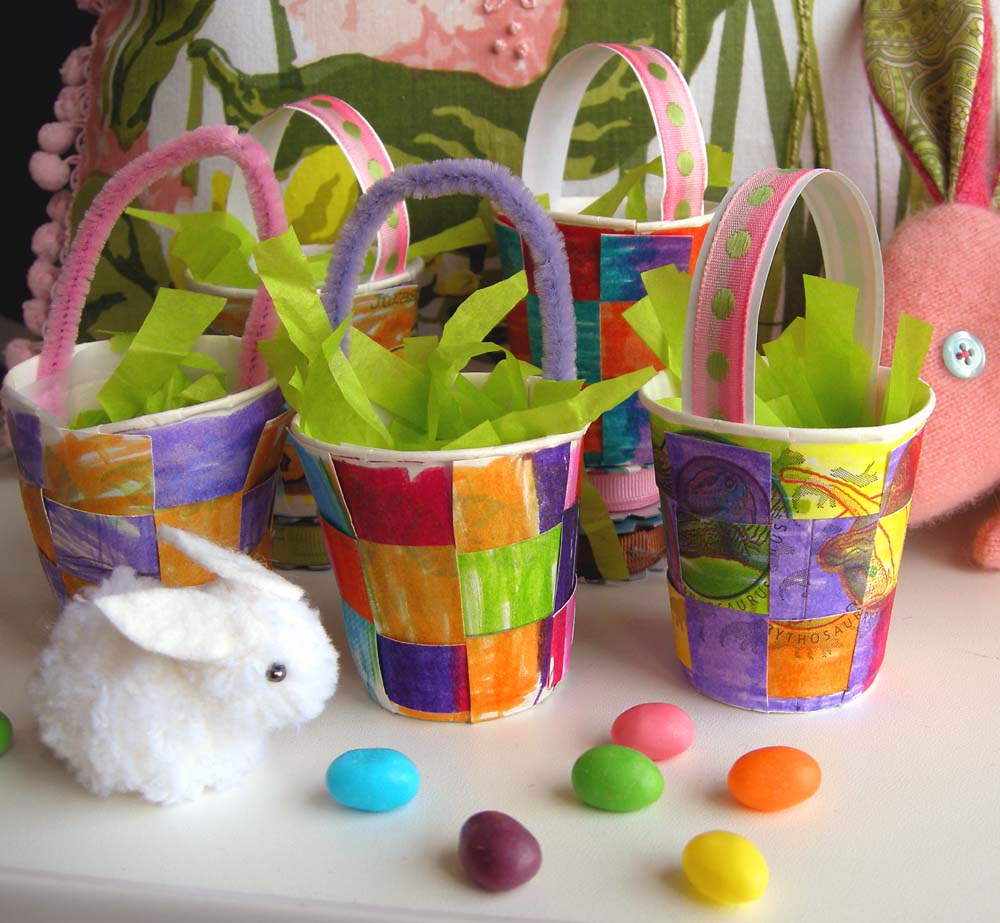 Mini Easter Basket Tutorial